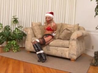 Cameron Dee Christmas restrain bondage introduce