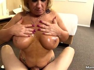 Point of view porno audition with monstrous boobed pump mature platinum-blonde