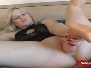 First-timer GILF Plays With massive faux boner
