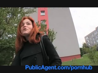 PublicAgent Married red-haired does ass-fuck in the cellar