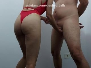 '[Real Couple] - My wifey punching my balls'