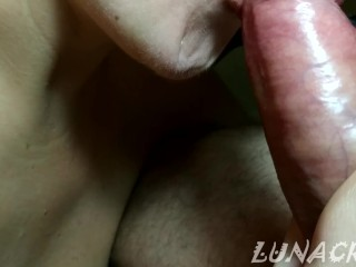 Highly sensitized and succulent oral from my spunky tart jizz PORNHUB first-timer