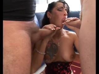 Sexy MILF Double Blow Job & Loads