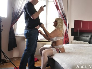 'Anna Valentine nasty blondie hungarian mature and a youthfull boy PART 1'