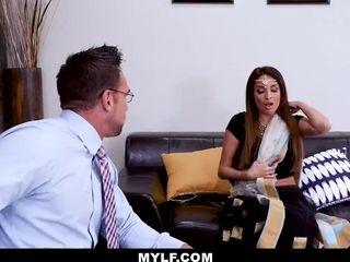 MYLF - buxom Exotic cougar dick railing