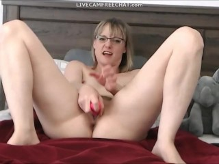 Epic brief Hair cougar with Glasses Caught stroking