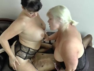 'GRANNYLOVESBLACK - periodically the hookup medic has to display the duo how to fuck'