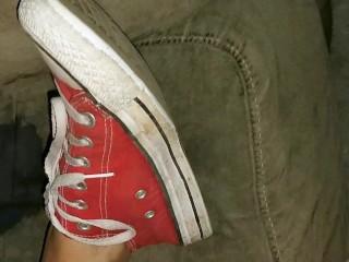 Mature sole boot fetish
