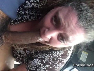 Plus-size deep throating on lunch break Part 2