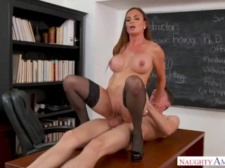 Diamond Foxxx - A supreme schoolteacher who likes having orgy with her college girls.