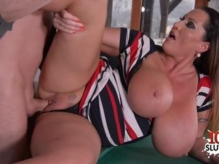 Big-chested mother gonzo intercourse