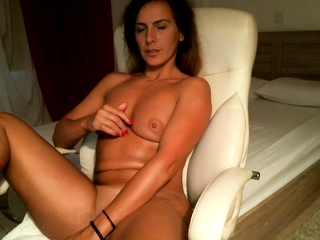 Wild wifey jack and get ejaculations to stranger on web cam