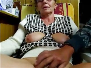 Grandma jerking
