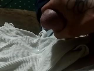 My beefstick erupting Earlier!!!!!