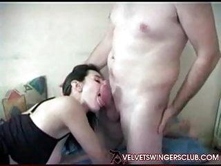 Velvet Swingers pub first-timer movie obedience Threesom Tracy