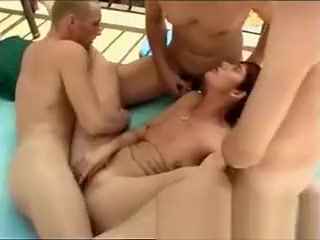 Outdoor fuckfest With astounding