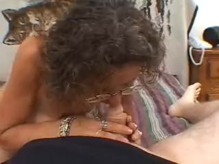 Ultra-kinky mature mother candy gives a sucky-sucky