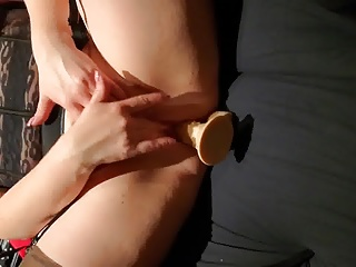 Wife playing herself