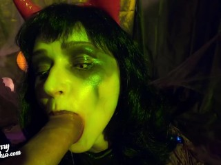 Junkie harsh poke elastic culo The satan on Halloween|4::Blowjob,5::Anal,12::Cumshot,20::MILF,30::POV,38::HD,46::Verified Amateurs,60::harsh