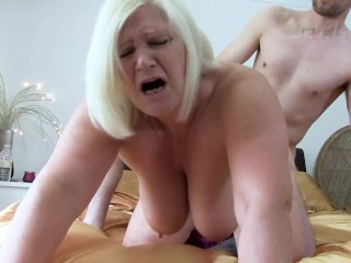 'OLDNANNY kinky mature gal tracked down paramour of her husband'