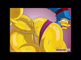X-rated spinning Simpson