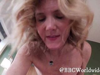 'GoPro point of view platinum-blonde Housewife boinks bbc in Front of beau (Cum Countdown)'