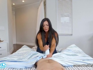 Mummy rails son-in-law and prays for internal cumshot