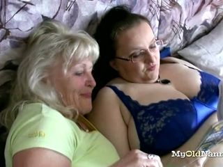 Chunky Breasted Granny Goes depraved