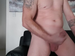 Striptease and masterbating