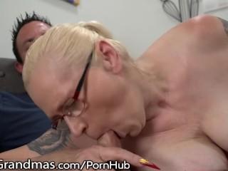 LustyGrandmas internal ejaculation for nasty Mature GILF!