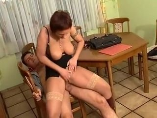 Amazing Homemade video with Big Tits, Stockings scenes