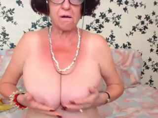 Redhead Granny Enjoying yourselves chiefly WebCam