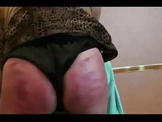 Brutish booty wifey bashed