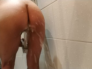 Real unexperienced cougar under douche homemade flick