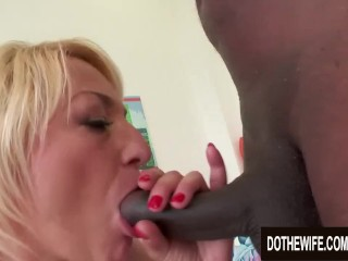 Ultra-kinky grandmother Adriana enjoy ravages a dark-hued guy in Front of Her youthfull hubby