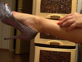 Gams my cougar,kneads soles