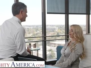 'Naughty America - Linzee Ryder will do anything to get her full-time position'