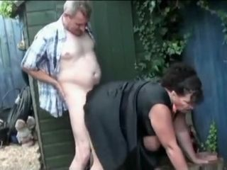 Awesome Homemade couple nearby BBW, alfresco scenes