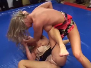 See red luring Catfight
