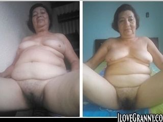ILoveGrannY bush-league Homemade Pictures Compilation