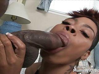 Ample hip cougar black Couture yummy Black vag pummel