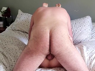 'Sexy platinum-blonde cougar enjoys to deepthroat and rail trunk, facial cumshot cum-shot at the end'