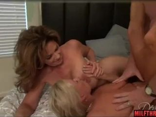 Brown milf triptych added to cumshot