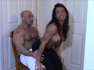 Latex man meat polishing till ejaculation