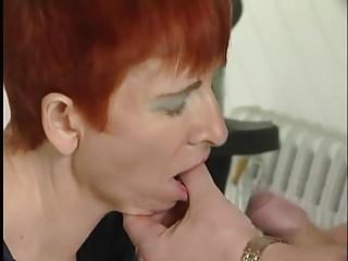 Skiny Redhead Mature