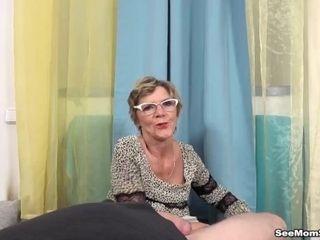 'EURO grannie deep-throat JOB'