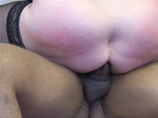 'LACEYSTARR - Nothing makes grandmother Lacey more satisfied than a lil workplace assfucking banging'