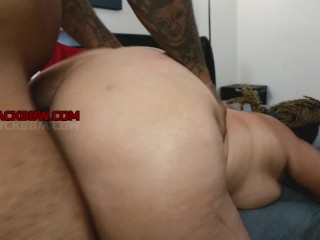 Super-sexy large crimson prick cougar humid BACK SHOT