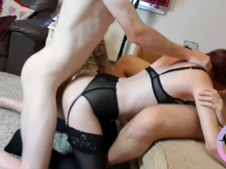 Being a excellent biotch for 2 dicks! Part.1