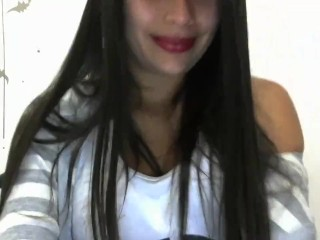 Camila eloquent Colombian CUTE!!! Skype front Webcam